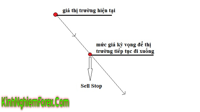 Lệnh Sell Stop